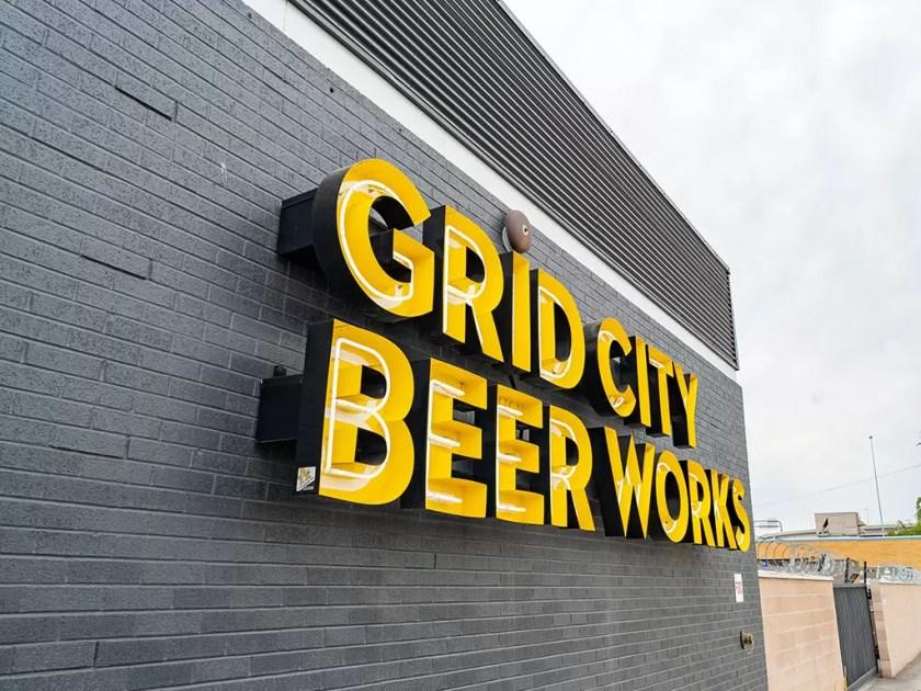 Grid City Beer Works sign