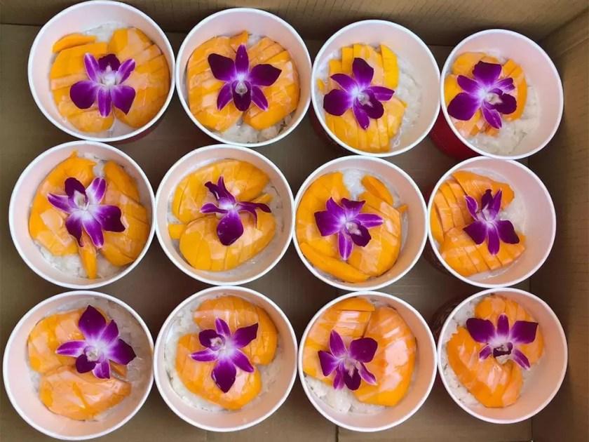 Mango Sticky Rice (Suzy Thai Food)