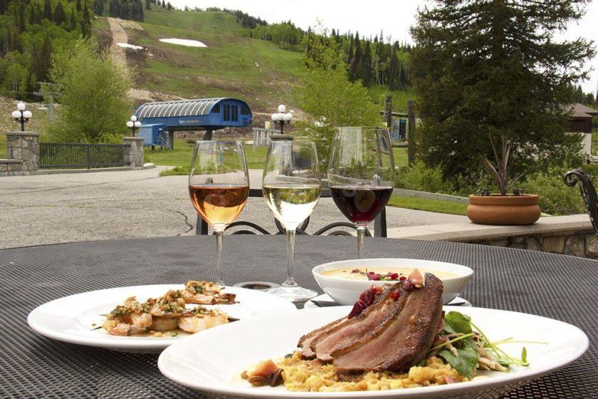 Summer wine down (Solitiude Mountain Resort)