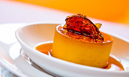 Crema de zahar ars decorata cu caramel