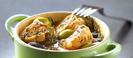 Preparat culinar: vită cu măsline