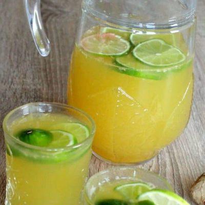 Cocktail Fara Alcool Cu Ghimbir Si Ananas