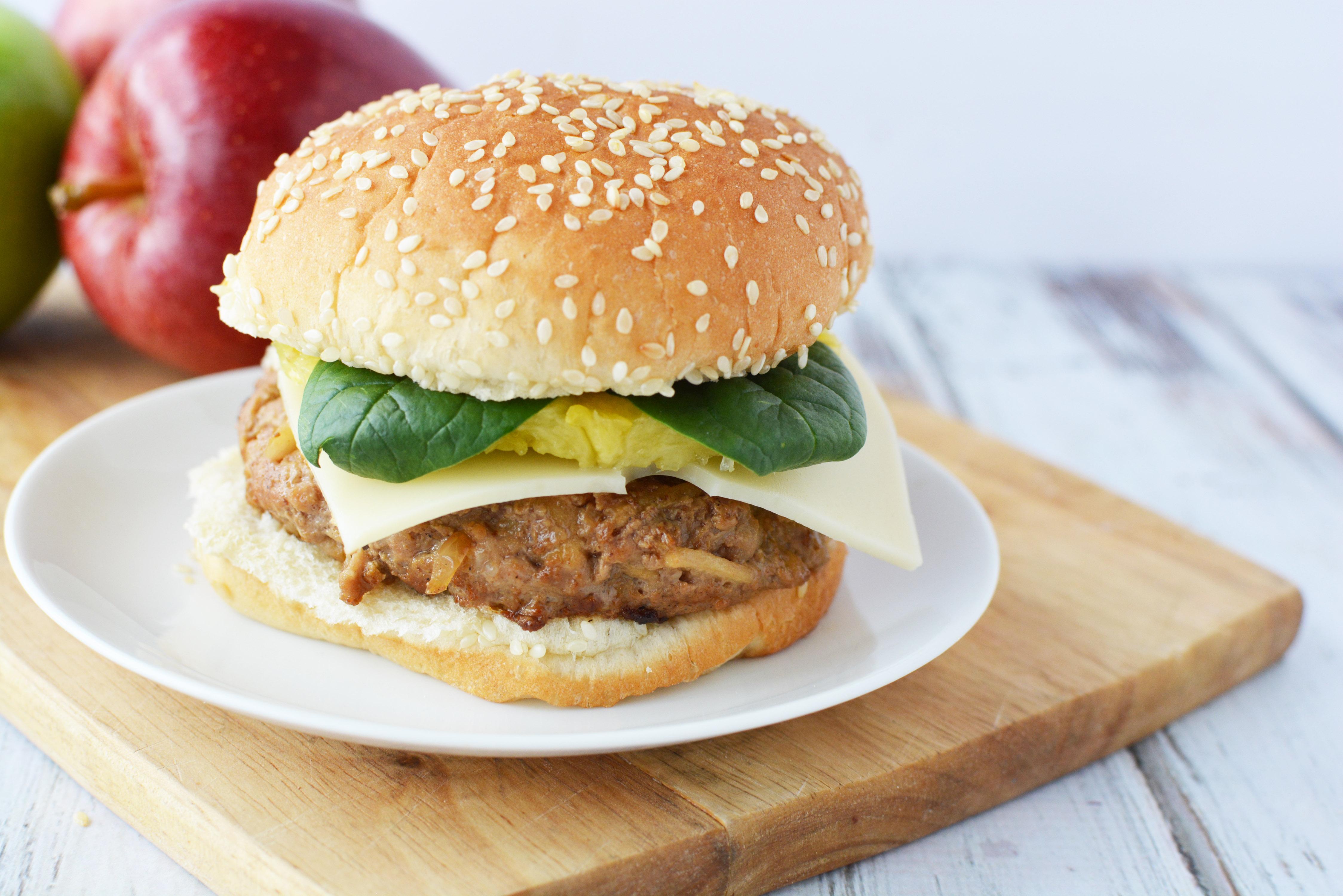 reteta burger porc