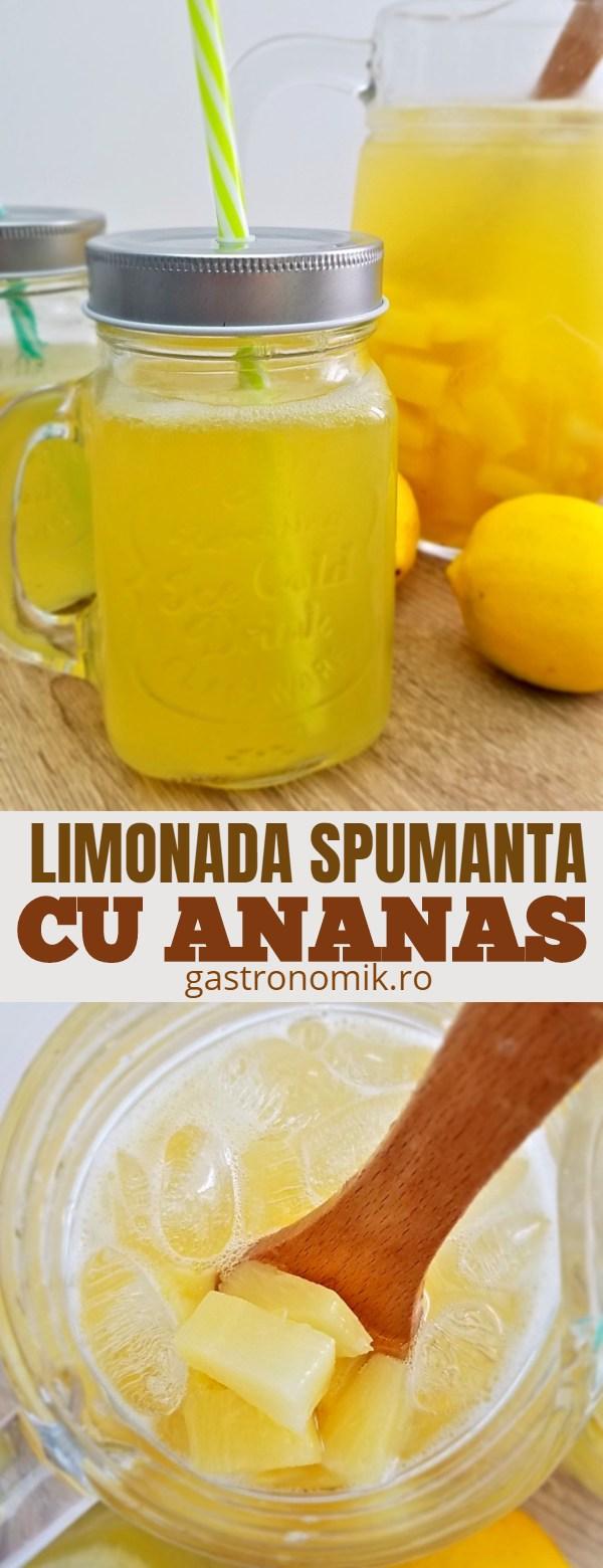 Limonada cu ananas