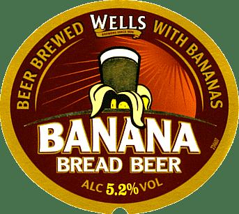 Etiqueta Wells Banana Bread Beer