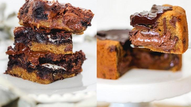 Torta cookie. Crédito: Nadia Rosa