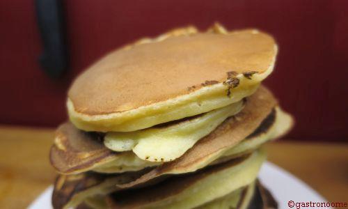 Pancakes light à la compote
