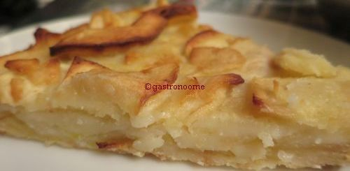 Gâteau aux pommes light