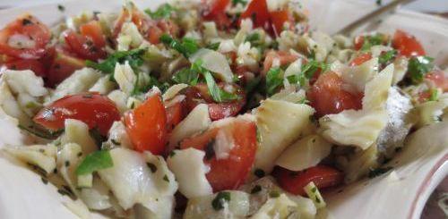 Salade de poisson blanc