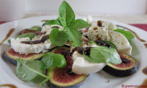 Salade figues & mozzarella