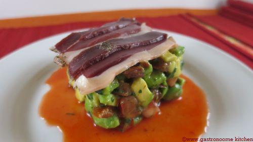 Salade fèves et magrets