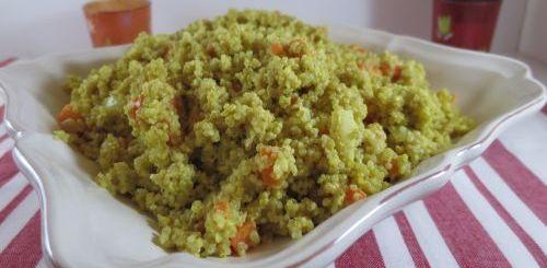 Quinoa au curry