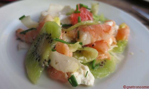 Salade fraîcheur aux kiwis