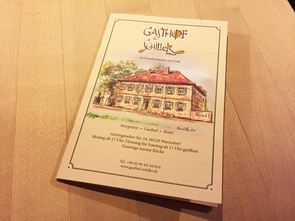 2016-01-29 Gasthof Schiller ALEMANIA - WERNSDORF 05