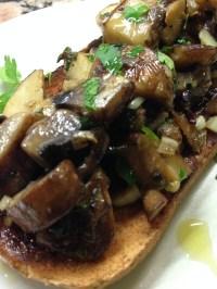 Medley of Mushrooms on Toast