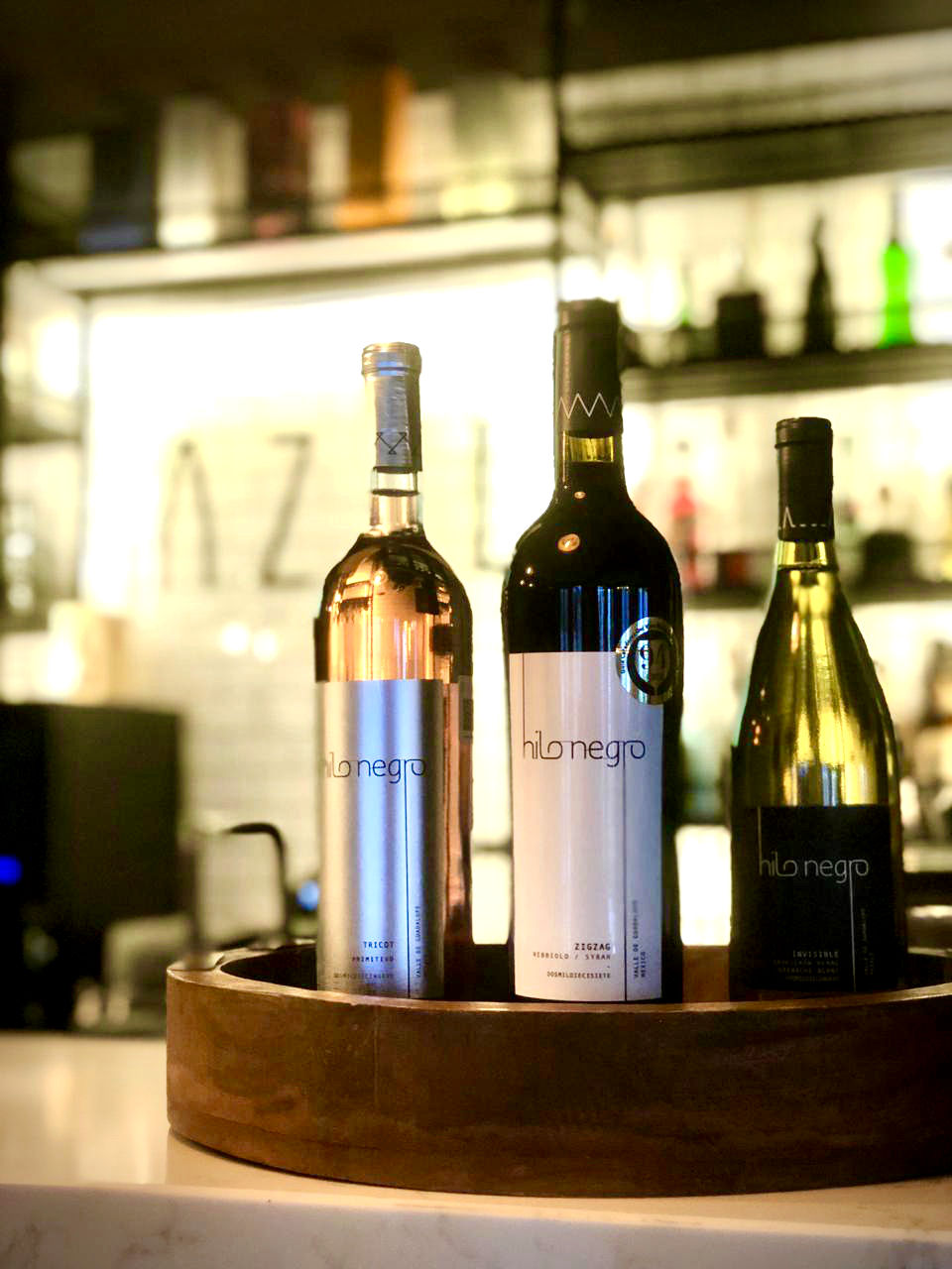 Wines at gastroteca AZUL