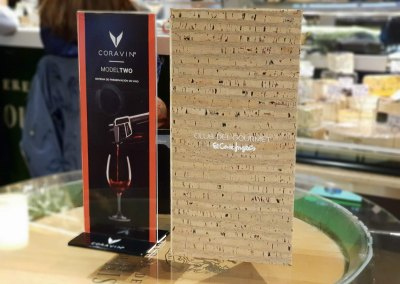 Display coravin y carta eci gourmet