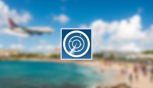 Flightradar24はリアルタイムで全世界の航空機の情報をチェックできるアプリ