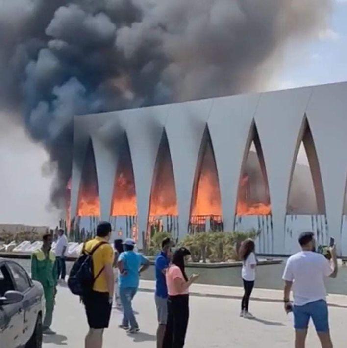 حريق في مهرجان الجونة السينمائي