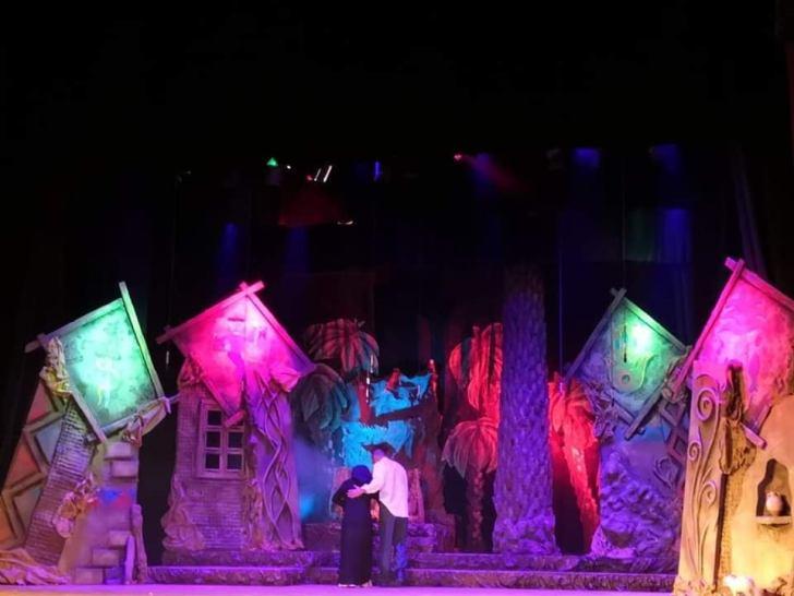 يلعب الندى في عروض المهرجان الوطني للمسرح