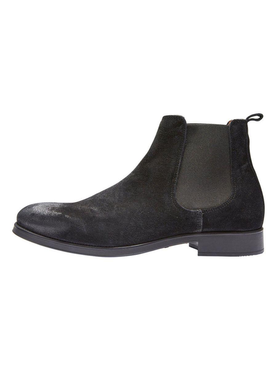 Selected Boot - SHD BOLTON CHELSEA BLACK | Gate 36 Hobro