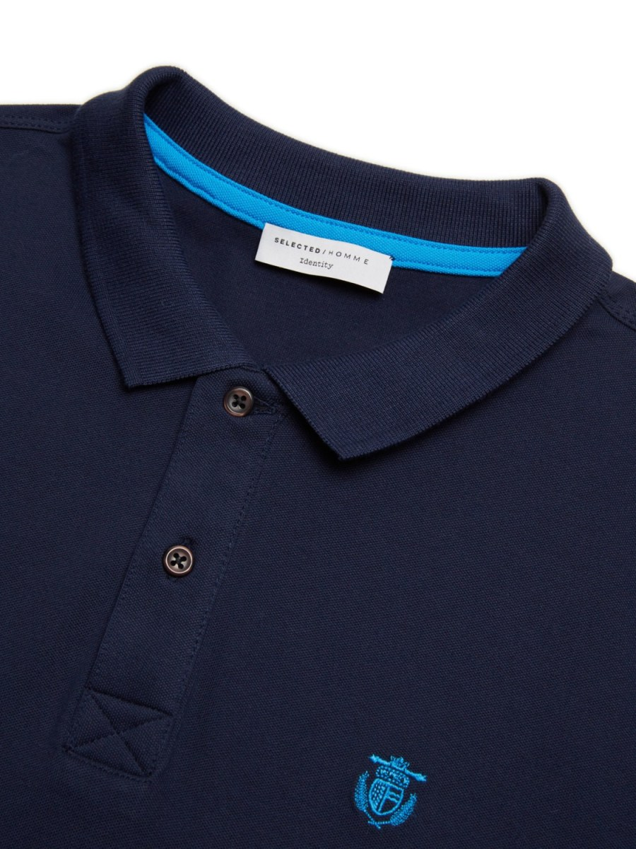 Selected - Aro Polo Navy | Gate 36 Hobro