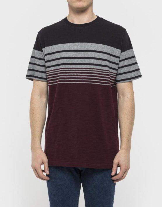 RVLT T-Shirt – 1959 Asse Tee Grey/Black/Red