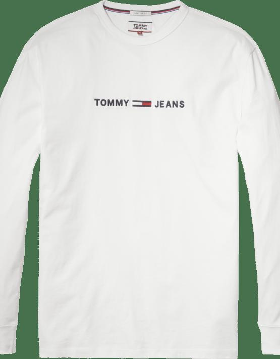 TJM -Text Tee L/S White