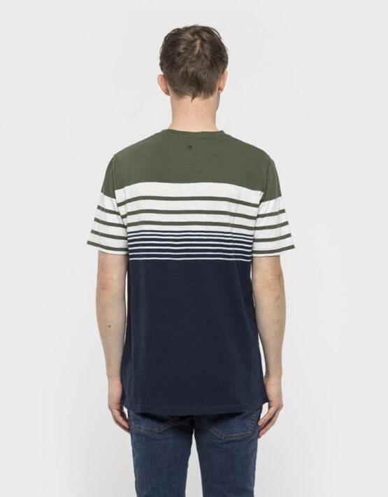 RVLT T-Shirt - 1959 Asse Tee Army/White/Navy | Gate 36 9500 Hobro