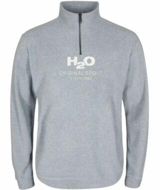H2O Blåvand Fleece Half Zip Lt Grey