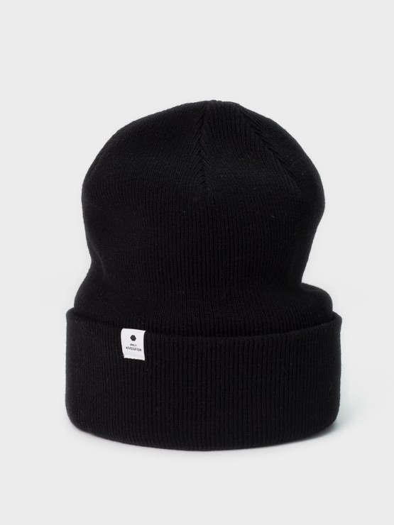 RVLT Louis Beanie Black | GATE36 Hobro