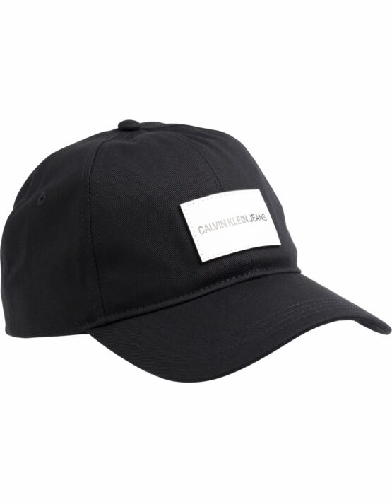 9c32bf7d7d5e K50K504562 Calvin Klein Badge Cap Black