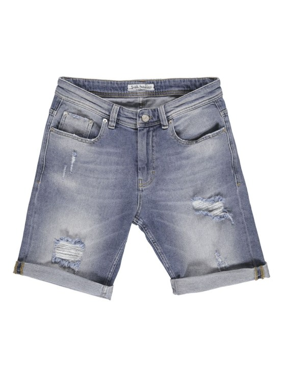 Just Junkies - Mike Shorts Pillow Blue | GATE36 Hobro