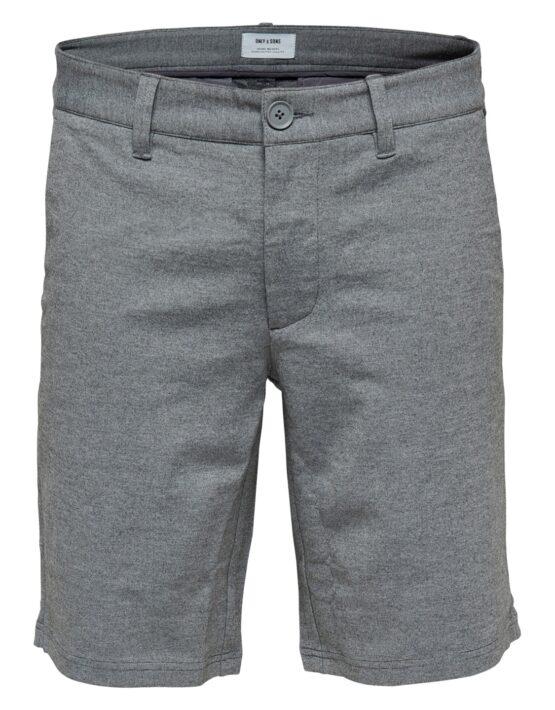 ONLY & SONS – Mark Shorts Mid Grey Mel