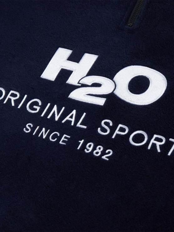 H2O Fleece Navy   GATE36 Hobro
