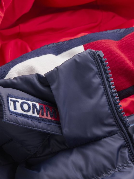 TOMMY JEANS - Down Jacket Black Iris | GATE36 Hobro