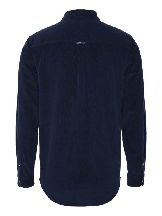 Tommy Hilfiger Cord Shirt navy | GATE36 Hobro
