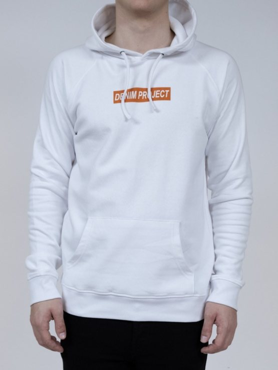 DENIM PROJECT- Hoodie Logo white | GATE36 Hobro