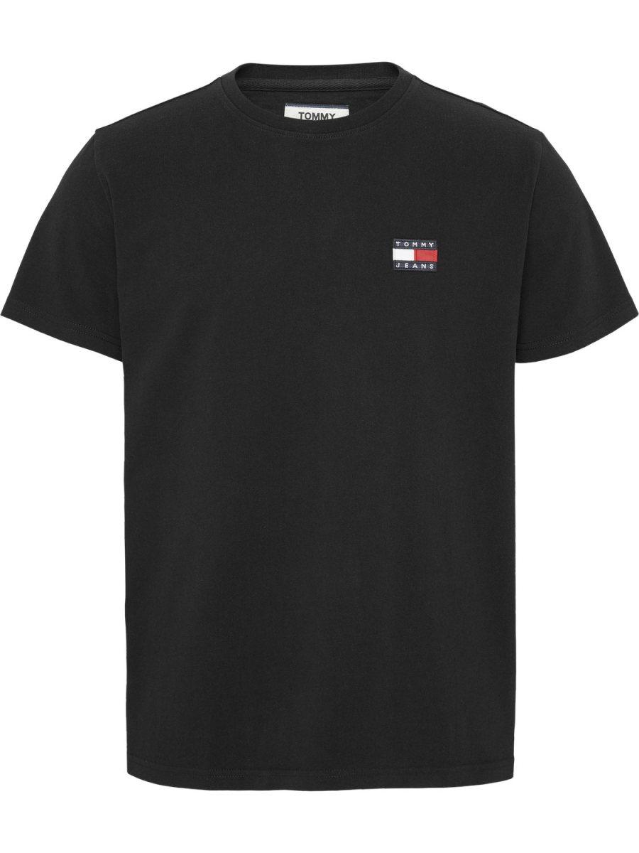 TOMMY HILFIGER - T-shirt badge Black   GATE 36 Hobro