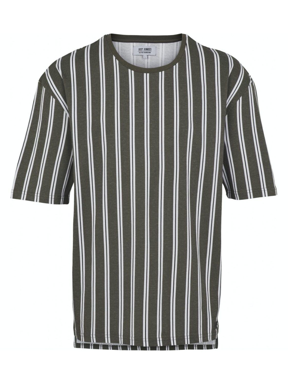 Just Junkies - T-shirt JJ1605 napp olive | GATE 36 Hobro