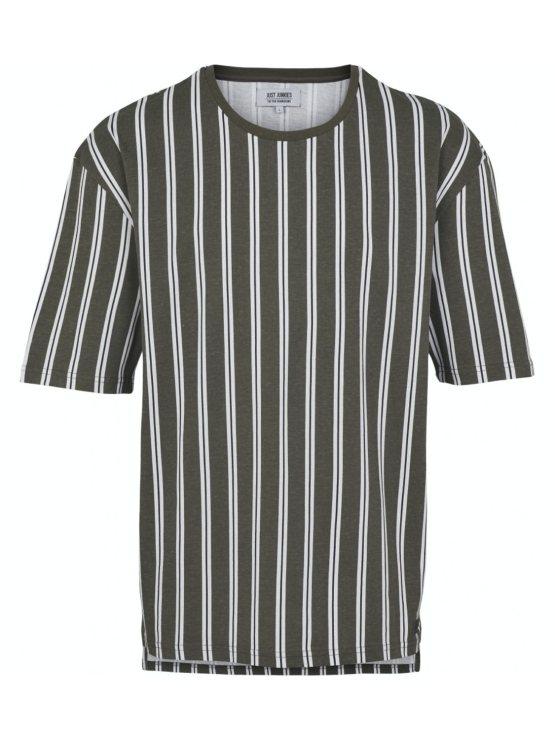 Just Junkies - T-shirt JJ1605 napp olive   GATE 36 Hobro