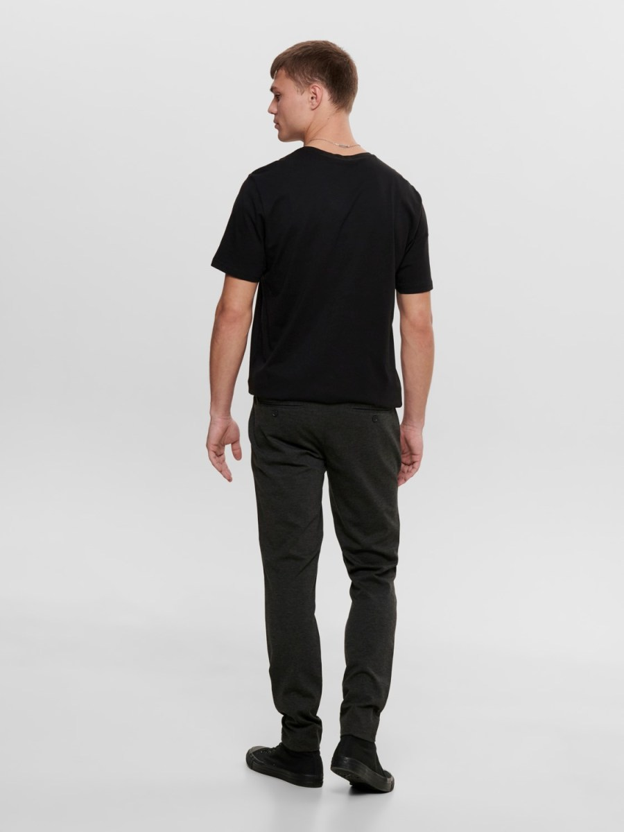 ONLY & SONS - Mark Pants Dark Grey | GATE36 HOBRO