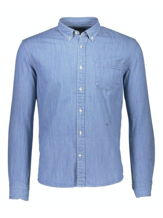 Junk de Luxe Skjorte heavy washed denim | GATE 36 Hobro