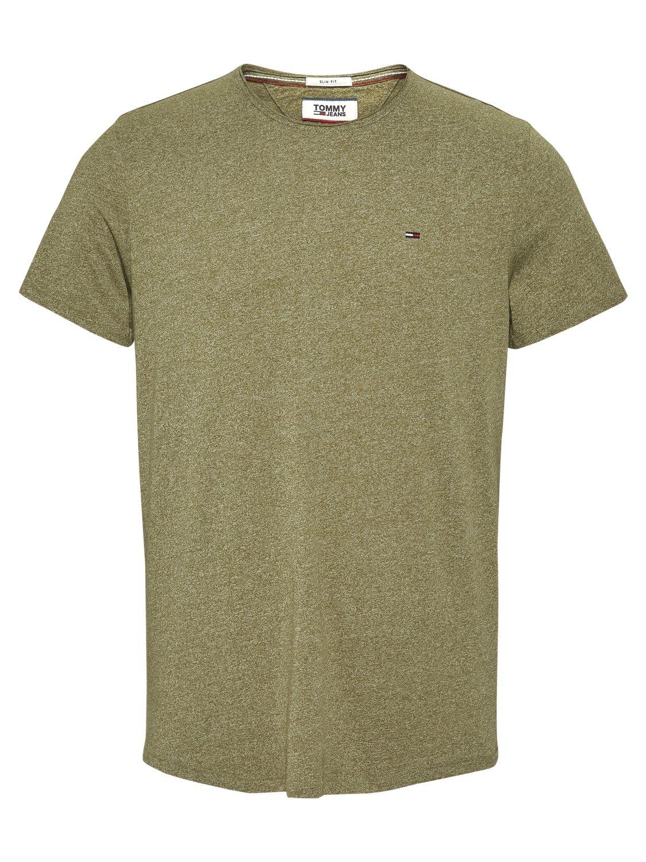 TOMMY HILFIGER - T-shirt Jaspe Olive | GATE 36 Hobro