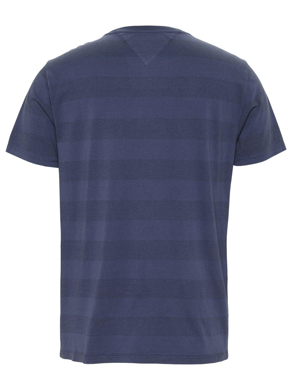 TOMMY HILFIGER - T-shirt Bold Stripe Navy | GATE 36 Hobro