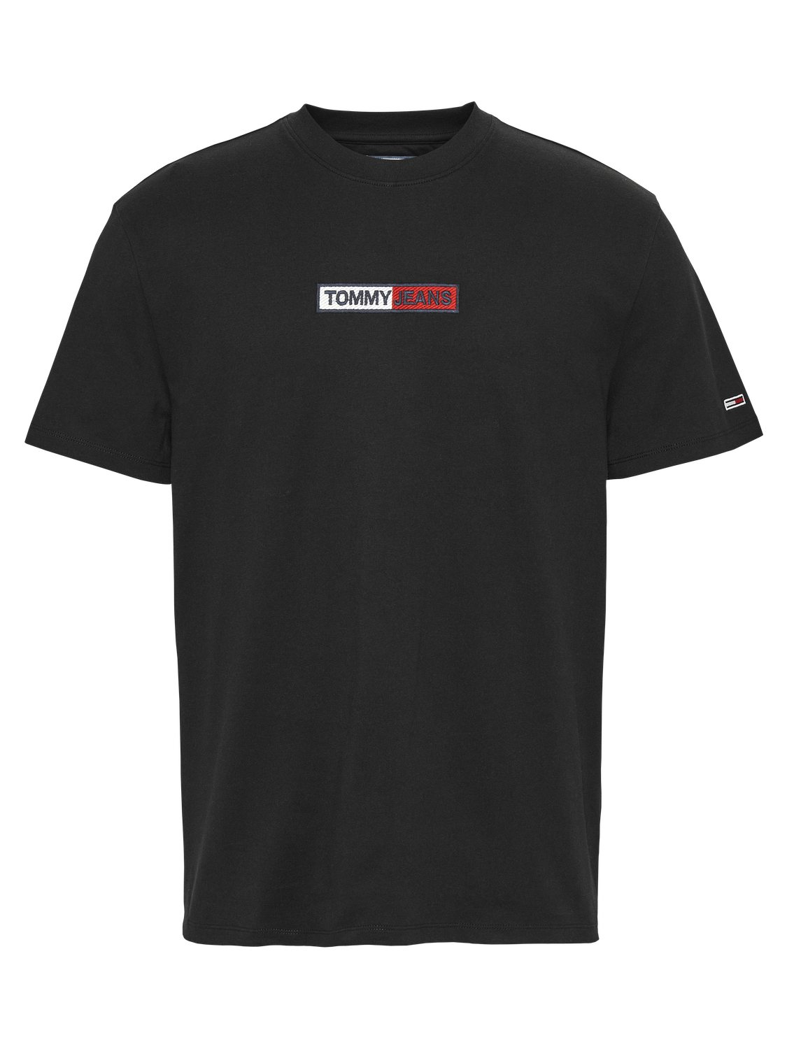 TOMMY HILFIGER - T-shirt Box Logo Black | GATE 36 Hobro