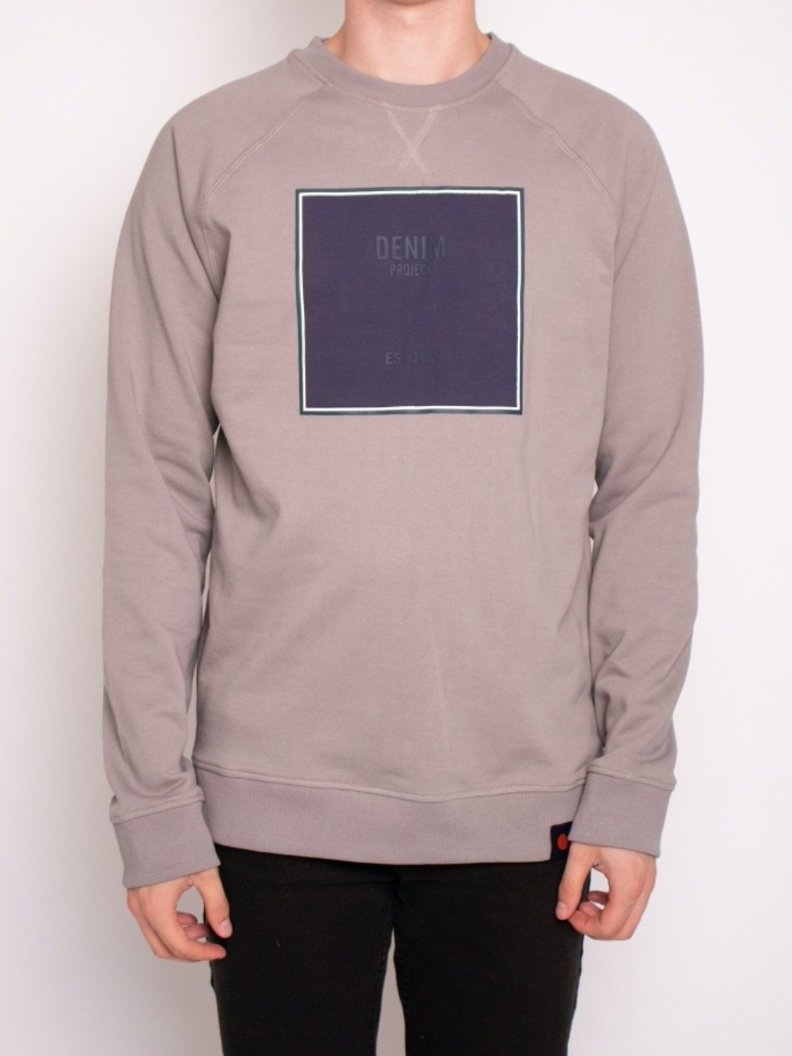 DENIM PROJECT - Sweatshirt Grey Logo | GATE 36 Hobro