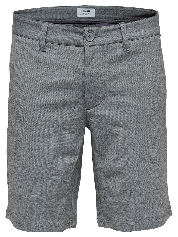 ONLY & SONS - OnsMark Shorts Grey | Gate36 Hobro