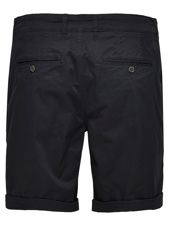 Selected - Chino Shorts Black | GATE 36 Hobro