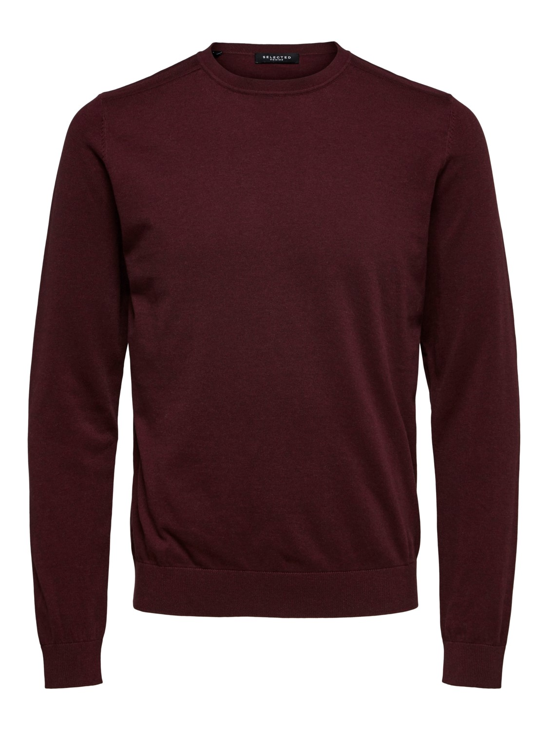 Selected - slhberg crew neck Strik winetasting | Gate36 Hobro